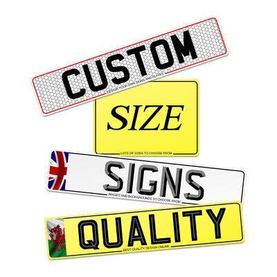 Quality Custom  Number Plates And Show Plates