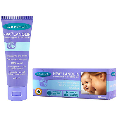 Lansinoh HPA Lanolin Cream 40ml - 2 Pack
