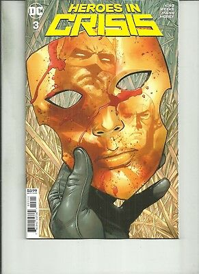 HEROES IN CRISIS  #3  DC Comics 2018 1st Print NM