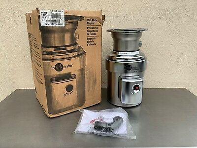 New  In-Sink-Erator SS-100-28  1 HP Stainless Commercial Disposer in Opened Box