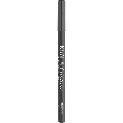 Bourjois 2-in-1 Khol and Contour Eyeliner and Eye Pencil - 3 Misti-Gris - 1.2g