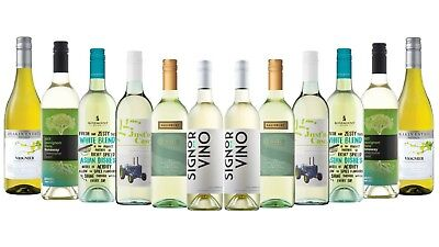 RRP $180 Ultimate Summer Party Mixed White Wine Pack (12 x 750ml)  Free Delivery