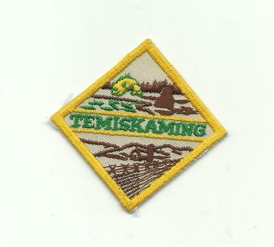 Scout Canada Temiskaming District Area Region Patch Canadian Scouting Badge !!!!