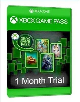 Xbox Game Pass 1 Month Trial (New Customers)