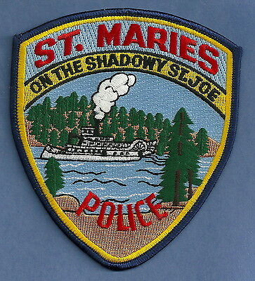 St. Maries Idaho Police Patch River Steamboat!