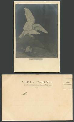 Napoleon Bonaparte The Tomb Hat Sword Bird Eagle F. Spiessig Artist Old Postcard