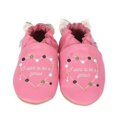"""Robeez Girls' """"i Want To Be A Genius"""" Shoes"""