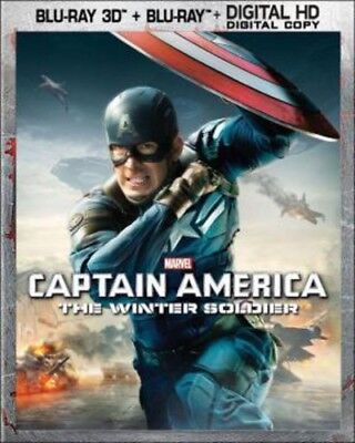 Captain America: The Winter Soldier 786936842173 (Blu-ray Used Like New)