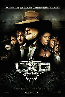 The League of Extraordinary Gentlemen Steampunk S/S Movie Poster 27x40 LXG 2003