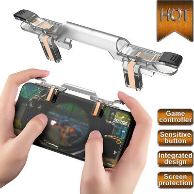 Cell Phone Game Controller Fire Button Gamepad Shooter Trigger For PUBG US Stock