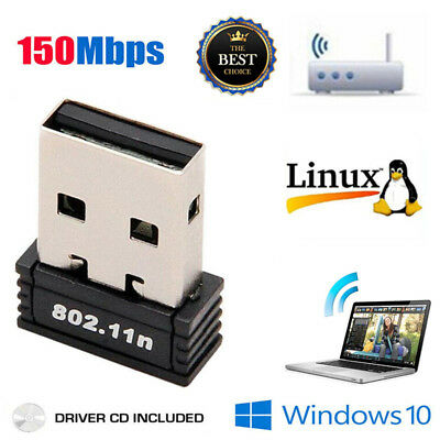 2019 Mini USB WiFi WLAN 150Mbps Wireless Network Adapter 802.11n/g/b Dongle Hot