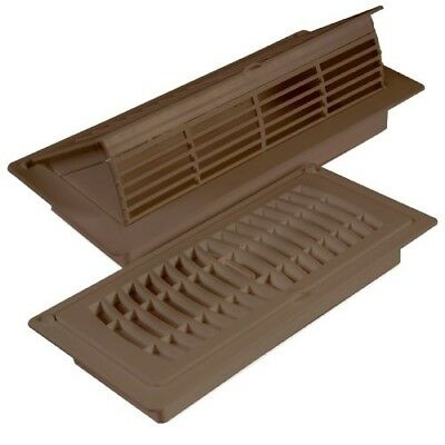 Pop Up Floor Register Grilles Vents High Impact Polystyrene Construction Brown