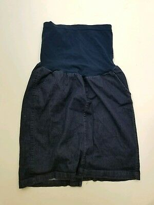 A Pea In The Pod Maternity Denim Skirt Womens Size 29 Freedom culture