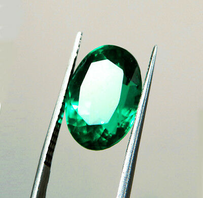 Top Of The Line ! 1.41 ct Natural Earth Mined Emerald Certified