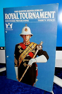 🎭🎭 1977 Queen's Silver Jubilee Royal Tournament Programme 🎭