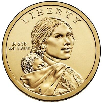 2017 D Sacagawea Native American Dollar US Mint Coin BU PRICE LISTED IS PER COIN