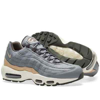 uk availability f1685 1e597 Nike Air Max 95 Premium Gris Cool   Champignon Hommes Baskets (538416-009)