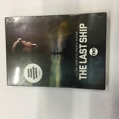 The Last Ship: The Complete Fourth Season 4 (DVD,2018 3-Disc Set) free shipping