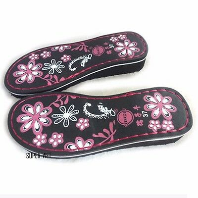 Women Flower Slipper Wedge Soles Shoe Making Sew On Replacement Repair DIY Craft