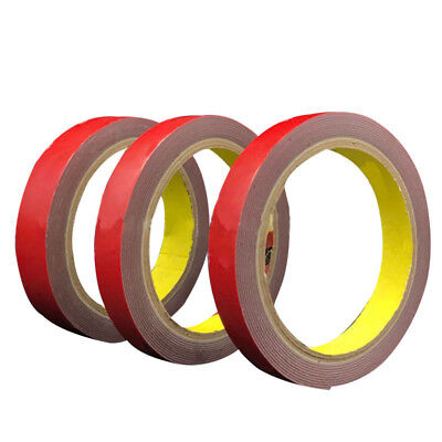 3M Car Permanent Sided Strong Double Sticky Foam Super Roll Tape For Vehicle AU
