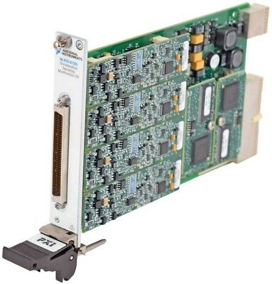 National Instruments NI PXI-6120 Simultaneous Sampling Malfunction I/O Card