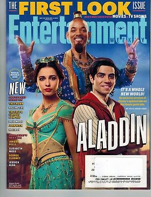 Entertainment Weekly Dec Jan 2018 2019 Aladdin Will Smith Upcoming TV & Movies