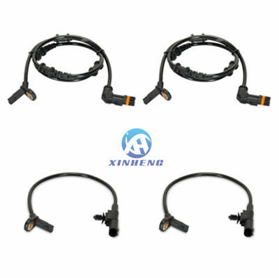 Front Rear Left Right ABS Wheel Speed Sensor For Mercedes-Benz W164 ML350 ML320