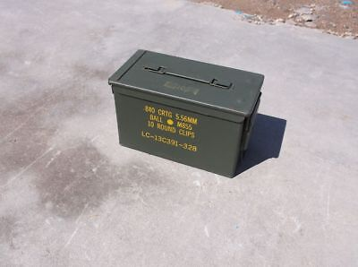 (4 pack)U.S. Military Surplus Waterproof M2A1 .50 Caliber Ammo Can, Used