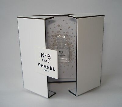 Chanel  N°5  L'EAU  miniature collectible box magnetic closure  limited 2017
