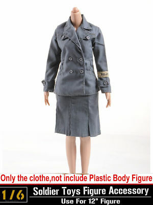 """1//6 Dragon DML Toys WWII US Military Sweater Jacket Coat Clothes Fit 12/"""" Figure"""