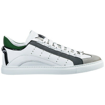 NIB AUTHENTIC DSQUARED2 Tennis Club Men's Sneakers Size 42