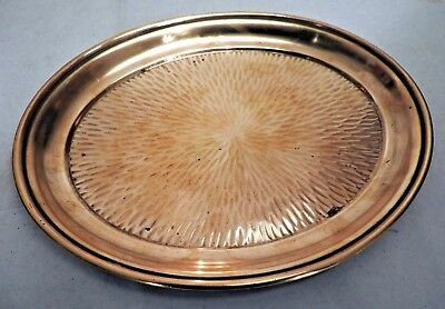 Vintage Arts & Crafts Copper Tray made in Wurttemburg Germany