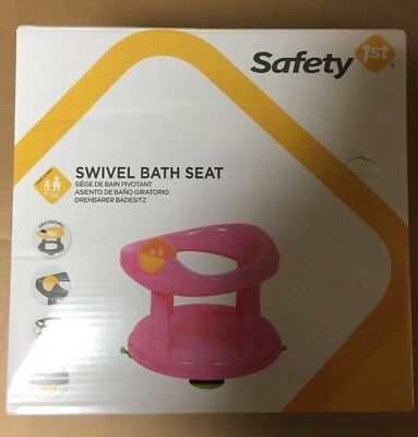 Safety 1st Swivel Baby Bath 360 Degree Support Chair, Pink