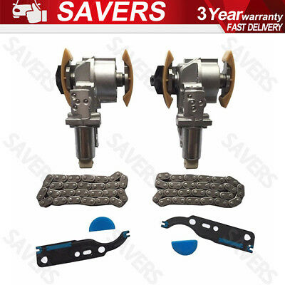 Left & Right Camshaft Timing Chain Tensioner Kit For VW Touareg Audi A6 A8