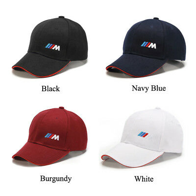 8a1796c17f2 BMW M Power Baseball Cap Embroidery Motorsport Racing Hat Sport Cotton Snap  Back