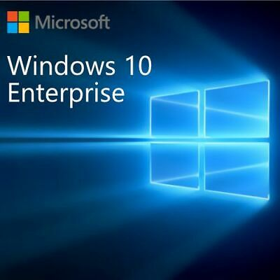 Windows 10 Enterprise- Key/Clave Licencia/license 32/64 Bits 100%Original