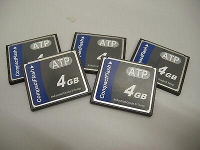 ATP 4GB Industrial Compact Flash Card