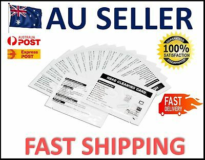 10 Pack Cleaning Card for Magnetic Stripe Credit Card Reader POS ATM Swipe Head