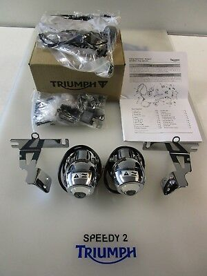 Triumph Rocket 3 111 Classic & Roadster Fog Light Kit A9738042 Fits Up To 2005