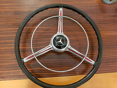 Three spoke steering wheel Lenkrad for pre war Vorkrieg Mercedes 170