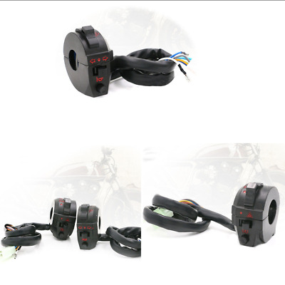 "7/8"" Motorcycle ATV 22mm Switch High/Low Beam Light Turn Signal Horn Switch"