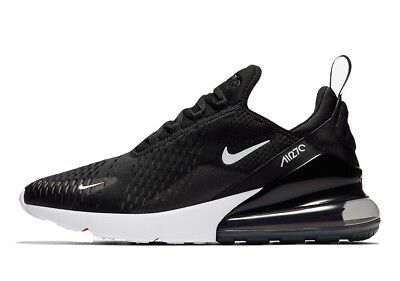 2018 Nike Air Max 270 Black Anthracite and White Oreo Solar Red AH8050-002