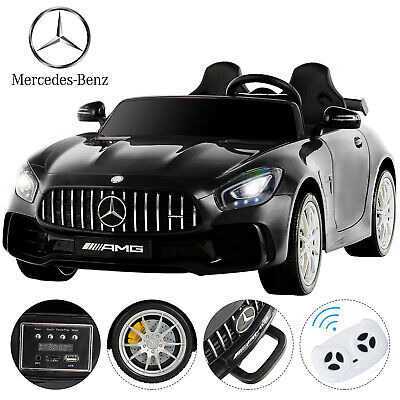12V Electric Battery Kids Ride on Car Truck Jeep LED MP3 w/ Remote Control Black