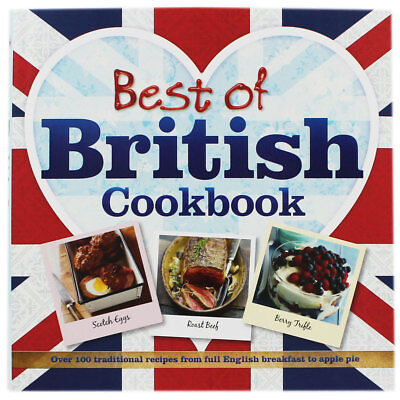 Best Of British Cookbook, Non Fiction Books, Brand New
