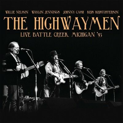 THE HIGHWAYMEN - Live Battle Creek, Michigan '93. New 2CD + sealed ** NEW **