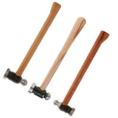 Multifunction Iron Metal Wooden Handle Hammer Tool for Jewelry Making Design