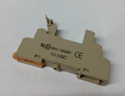 Omron 5 pin relay  base  P2RF-05-E 12VDC