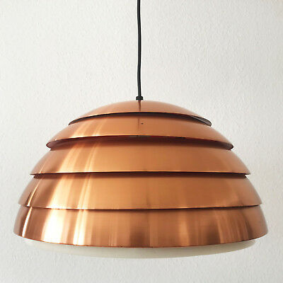 XL Mid Century Modern BEEHIVE Pendant Lamp by HANS-AGNE JAKOBSSON |  ∅45 cm