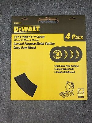 DEWALT DW8001B4 Heavy Duty 14-Inch by 7/64-Inch by 1-Inch General Purpose Chop S
