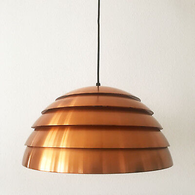 XL Mid Century Modern BEEHIVE Pendant Lamp by HANS-AGNE JAKOBSSON, ∅ 45 cm